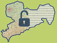 Einige Geodaten von Sachsen frei verfügbar und verwendbar. Quelle Logo: geodaten.sachsen.de