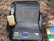 T. Göhler: GPS und Kartensoftware als wichtiger Bestandteil der Feldausrüstung.