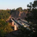 Brücke über den Plauenschen Grund, A17 (Tunnel Dölzschen)