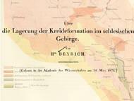E. Beyrich über die cenoman-turonen Schichten bei Kieslingswalde (Schlesien)