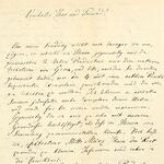 Brief an Laurent-Guillaume de Koninck