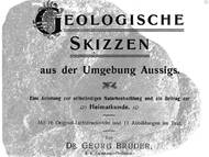 G. Bruder zur Geologie der Umgebung von Aussig