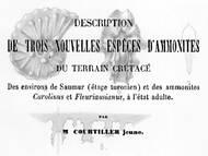 M. Courtiller: Ammoniten aus der französischen Kreide