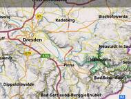 Hillshading of Saxony (DGM20, GEOSN - License: <a href='https://www.govdata.de/dl-de/by-2-0'>dl-de/by-2-0</a>) in OsmAnd – © OpenStreetMap contributors (License: <a href='https://www.openstreetmap.org/copyright'>ODbL</a>)