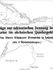 Spuren der Tektonik im Elbsandsteingebirge