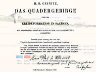 Geinitz: Das Quadergebirge oder die Kreideformation in Sachsen