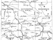 Blattschnitte der geognostischen Karte von Oberschlesien