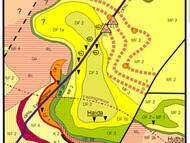 T. Göhler 2010: vorläufige geologische Karte der Gegend von Haida (bei Niederschöna, Freiberg)