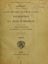 A. Grossouvre, 1894