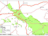 Geologische Übersichtskarte (LfULG): Aufschlüsse in der Elbtalkreide 2009/2010