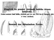 Kafka, 1886. Beitrag zur Kenntnis der Cirripedier der böhmischen Kreideformation