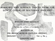 W. J. Kennedy über Spurenfossilien des Chalks
