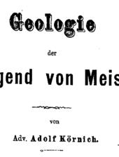 Geologie der Umgegend von Meissen