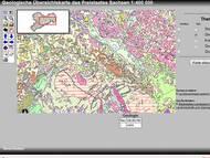 Interaktive Kartenanwendung: Geologische Übersichtskarte von Sachsen GK400