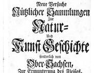 C.G. Hoffmann über Kreide-Petrefakten aus dem Plauenschen Grund
