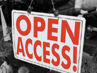 Bild: Open Access (storefront) von Gideon Burton (flickr.com - wakingtiger); Lizenz: CC-BY-Sa 2.0 - http://creativecommons.org/licenses/by-sa/2.0/