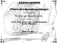 Ernst von Otto über (vermeintliche) Pflanzenreste aus der Umgebung zwischen Dresden und Dippoldiswalde