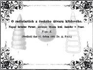 J. Perner über die Radiolarien aus dem tschechischen Teil der Kreide