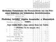 J. Perners Überblick über die Foraminiferenarten der böhmischen Kreide