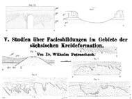 Petrascheck, 1899: Geologie an einigen klassischen Fundorten in der sächsischen Kreide