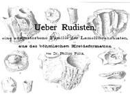 Pocta, 1889: Rudisten aus der Kreide von Tschechien