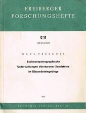 U.a. über Proben aus den Weißen Brüchen in Wehlen, Sächsische Schweiz