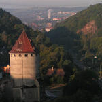 Blick in Richtung Freital