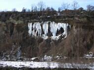 Ratssteinbruch Nord im Februar 2010