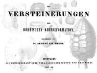 A.E. Reuss umfassende Arbeit über die tschechischen Kreidefossilien