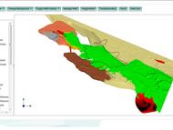 In der Demo kann sich ein erster Eindruck vom Untergrund im Elbtal und der näheren Umgebung verschafft werden; Screenshot: campusgis.geo.tu-freiberg.de