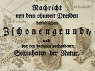 SChulze, 1770: Über Versteinerungen aus dem Zschonergrund bei Dresden-Cotta