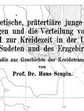 H. Scupin u.a. über die Paläogeographie im sächsisch-böhmischen Kreidebecken