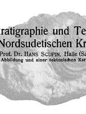 H. Scupin zur Tektonik der Kreide um Löwenberg (Lwówek Slaski) in Schlesien