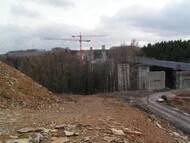 Seidewitztalbrücke im Frühjahr 2005