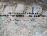 Seifert, Cenoman-Vorkommen am Heller (Anschnitt an A4)