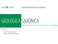 Tröger (2009): Veröffentlichung in Geologica Saxonica (Abbildung)