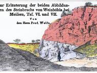 Weiß: Ueber einige geognostische Punkte bei Meißen und Hohnstein